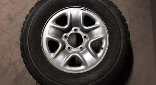Запаска на джип Тойота (5х150) с шиной Dunlop 245/75/17 за 45 000 тг. в Нур-Султан (Астана)