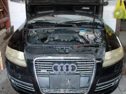Двигатель Audi AUK 3.2 a6 c6 FSI из Японии за 750 000 тг. в Костанай – фото 12