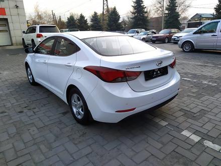 Hyundai Elantra 2016 года за 6 200 000 тг. в Алматы – фото 3