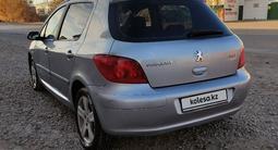 Peugeot 307 2002 года за 1 550 000 тг. в Актобе – фото 2