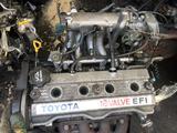 Двигатель карина е 1, 6 4afe, 4афе трамблерный за 195 000 тг. в Алматы – фото 2