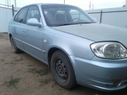 Hyundai Accent 2004 года за 1 800 000 тг. в Уральск
