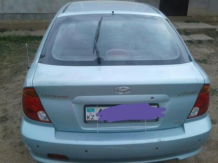 Hyundai Accent 2004 года за 1 800 000 тг. в Уральск – фото 3