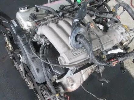 Двигатель акпп коробка Mitsubishi Galant 6a12 трамблер в Алматы
