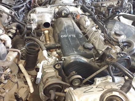 Двигатель 1hd FE 4.2Лит Тойота Ленд Крузер 100 за 1 200 000 тг. в Алматы – фото 2