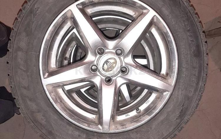Комплект колёс Tigar r15 195/65 (зимние) за 100 000 тг. в Актобе