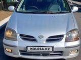 Nissan Almera Tino 2000 года за 2 670 000 тг. в Алматы