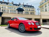 Bentley Continental GT 2009 года за 20 000 000 тг. в Алматы