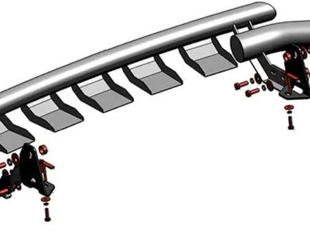Пороги. Навесное. Защиты картера и КПП. Авто коврики. Амортизаторы капота за 20 000 тг. в Актау – фото 35