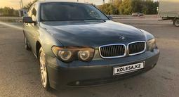 BMW 735 2002 года за 3 200 000 тг. в Нур-Султан (Астана) – фото 2