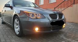 BMW 525 2006 года за 4 300 000 тг. в Актобе – фото 4