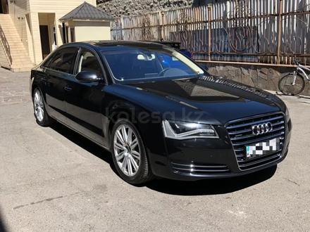 Audi A8 2011 года за 13 900 000 тг. в Алматы