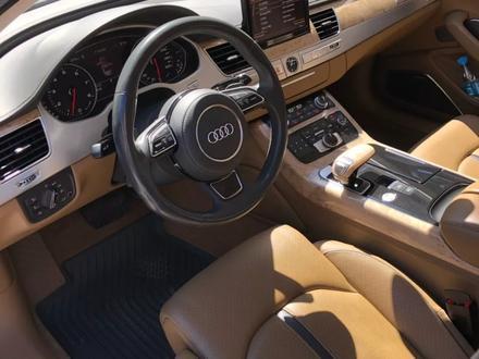 Audi A8 2011 года за 13 900 000 тг. в Алматы – фото 12