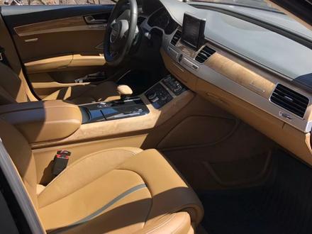 Audi A8 2011 года за 13 900 000 тг. в Алматы – фото 14