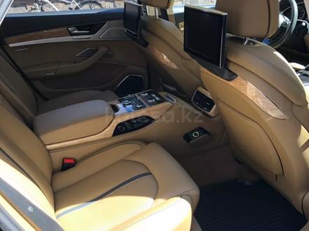 Audi A8 2011 года за 13 900 000 тг. в Алматы – фото 16