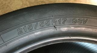 Летние шины в хорошем состоянии YOKOHAMA R17 215/55 за 120 000 тг. в Актобе