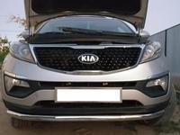 Защита бампера переднего одинарная Kia Sportage, Nissan X-Trail (2010-) за 25 000 тг. в Уральск