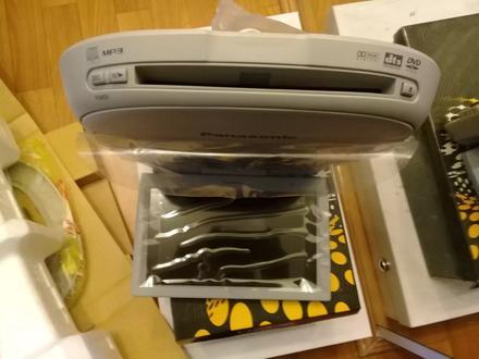 Новый потолочный монитор с DVD-проигрывателем Panasonic CY-VHD9401N за 100 000 тг. в Уральск – фото 18