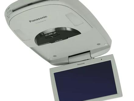 Новый потолочный монитор с DVD-проигрывателем Panasonic CY-VHD9401N за 100 000 тг. в Уральск – фото 2