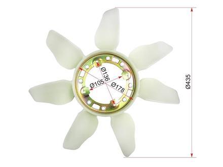 Крыльчатка вентилятора на TOYOTA 4RUNNER# N13# 88-97 за 13 500 тг. в Нур-Султан (Астана)