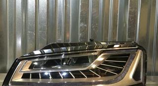 Фара левая Matrix Audi A8 D4 рестайлинг за 385 000 тг. в Алматы
