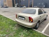 Chevrolet Lanos 2009 года за 1 000 000 тг. в Кызылорда – фото 3