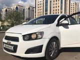Chevrolet Aveo 2014 года за 3 700 000 тг. в Нур-Султан (Астана) – фото 2