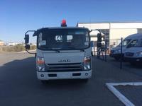 Jac  Бортовой c крано-манипуляторной установкой FG 414 на шасси JAC N80 2021 года за 26 700 000 тг. в Атырау