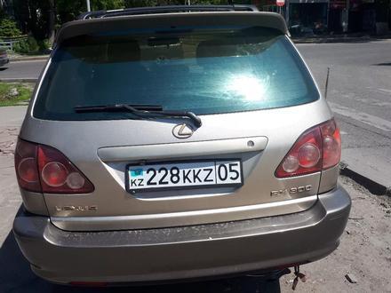 Lexus RX 300 2000 года за 3 400 000 тг. в Алматы – фото 5