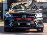 Mercedes-Benz ML 63 AMG 2014 года за 19 990 000 тг. в Алматы – фото 2