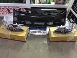 Комплект (бампер с фарами в сборе) facelift Camry 50 SE… за 190 000 тг. в Алматы – фото 5