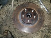 Задние тормозные диски субару оутбек 2007г об 2, 5 за 8 000 тг. в Актобе