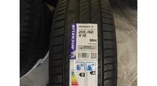 Шины Michelin 205/60/r16 Primacy 4 за 45 000 тг. в Алматы