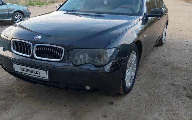 BMW 745 2003 года за 3 200 000 тг. в Актобе