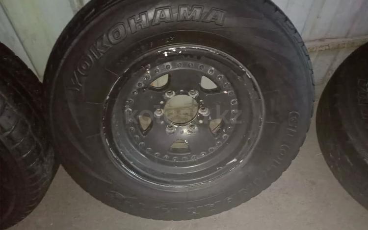 Титановые диски 4шт с шиной за 160 000 тг. в Алматы