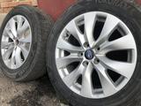Оригинальные диски Subaru 5*114, 3; ET 55; dia 56, 1 с резиной за 110 000 тг. в Усть-Каменогорск