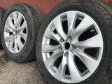Оригинальные диски Subaru 5*114, 3; ET 55; dia 56, 1 с резиной за 110 000 тг. в Усть-Каменогорск – фото 2