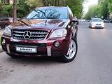 Mercedes-Benz ML 55 AMG 2007 года за 7 500 000 тг. в Алматы – фото 4
