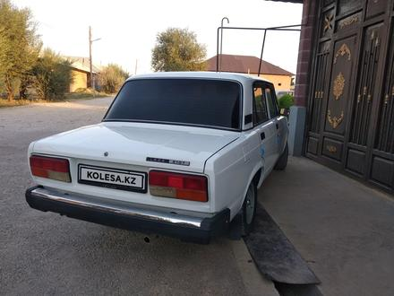 ВАЗ (Lada) 2107 2012 года за 1 380 000 тг. в Шымкент – фото 3