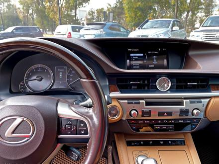 Lexus ES 250 2016 года за 15 700 000 тг. в Алматы – фото 6