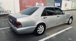 Mercedes-Benz S 600 1998 года за 4 200 000 тг. в Алматы – фото 3
