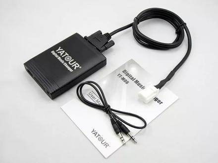 Yatour M-06 — USB Aux Адаптер для штатных магнитол за 20 000 тг. в Алматы – фото 10