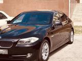 BMW 528 2012 года за 6 800 000 тг. в Тараз – фото 2