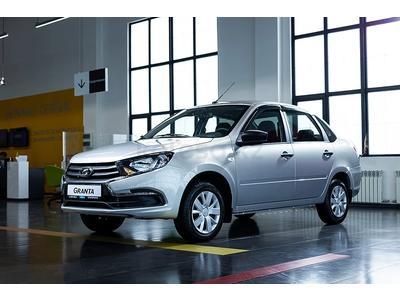ВАЗ (Lada) Granta 2190 (седан) Standart 2021 года за 3 665 000 тг. в Петропавловск