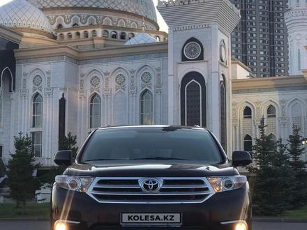 Toyota Highlander 2013 года за 11 700 000 тг. в Нур-Султан (Астана) – фото 12