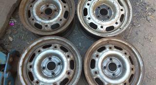 Оригинальные железные диски на Volkswagen Passat (Германия R14 4*1 за 16 000 тг. в Нур-Султан (Астана)