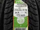 205/55 R 16 94 R NOKIAN HAKKAPELIITTA R2 XL зимние не шипованные шины. за 32 530 тг. в Алматы