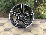 Оригинальные диски R21 AMG на Mercedes GLS, GLE Мерседес за 1 075 000 тг. в Алматы – фото 2