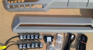 Спойлер переднего бампера брабус с домиком для мерседес G-Class за 100 000 тг. в Алматы