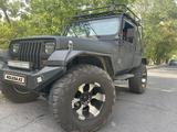 Jeep Wrangler 2000 года за 7 400 000 тг. в Алматы
